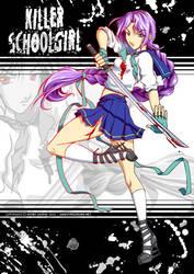 Killer Schoolgirl by sonialeong