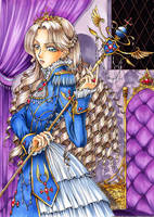 Perceptive Princess by sonialeong