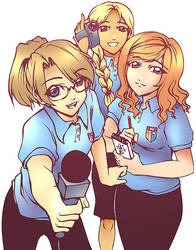 Media Students by sonialeong
