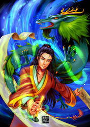 Chinese New Year WATER DRAGON by sonialeong