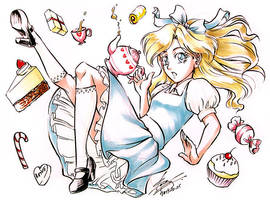Alice and Sweets by sonialeong