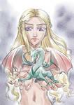 Daenerys Targaryen by sonialeong
