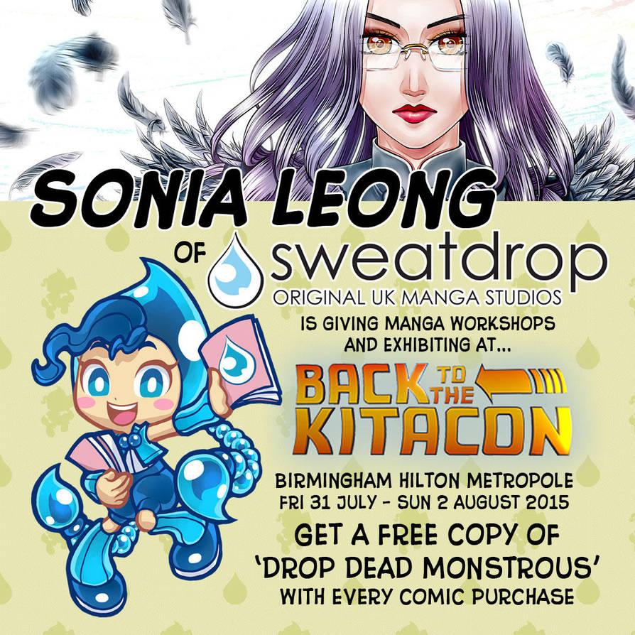 Sonia Leong and Sweatdrop Studios at Kitacon! by sonialeong