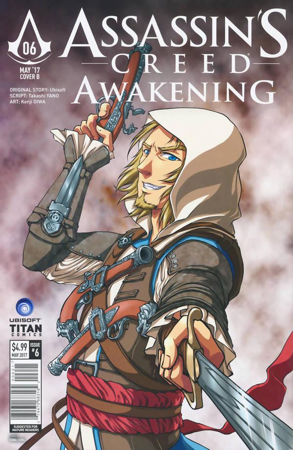 Assassin's Creed: Awakening Manga cover variant by sonialeong