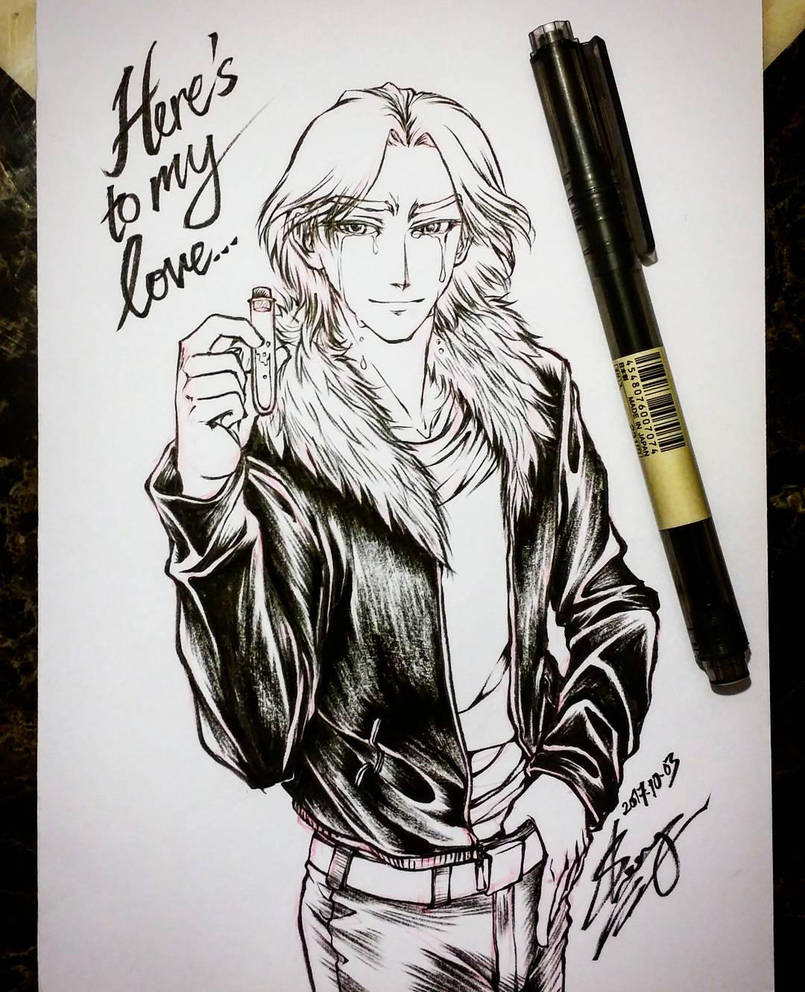 Inktober 2017 Day 3 Poison Romeo and Juliet by sonialeong