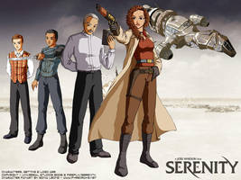 Firefly Serenity fanart 2 by sonialeong