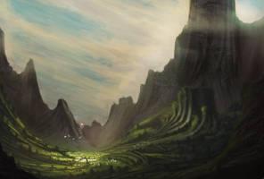 Hidden city of Sarbigan by Hachiimon