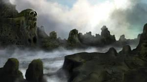 The valley of Kallo by Hachiimon