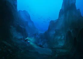The sunken forest of Brinumi by Hachiimon