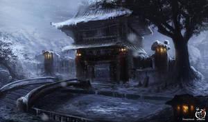 Shrine of Mameshiba by Hachiimon