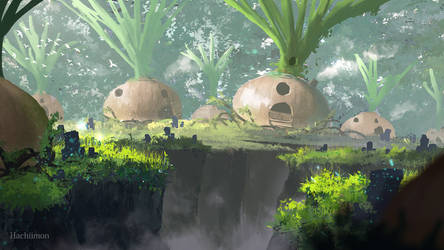 Onion Village by Hachiimon