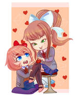Doki Doki Valentine's Day by ThemisDolorous