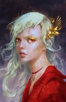 Amelia  - The Demon's Daughter by GraceZhu