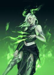 Dragon Crown by GraceZhu