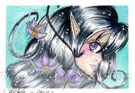 Miss Nightshade ACEO by SeraphimFeathers
