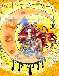 Happy Halloween! 2013 by SeraphimFeathers