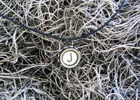 Antique Typewriter Key Pendant by UncommonARTicles