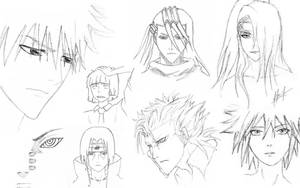 Sketch dump boys by yobutakei
