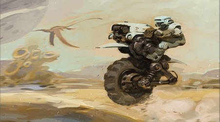 Mini Practice 01- dune rider by ThanhTuan613