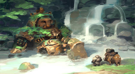 Mini Practice 02 - dwarf tech lost and found by ThanhTuan613