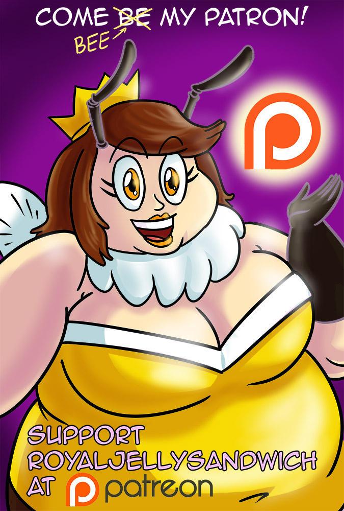 Be(e) my Patron! (Patreon) by RoyalJellySandwich