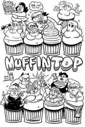 Muffintop 4 Splash by RoyalJellySandwich