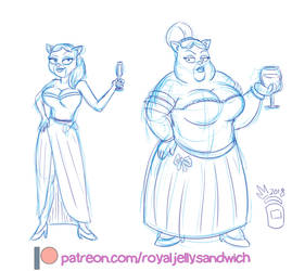[Patreon] The Rich Cat-Lady From Rick  Morty by RoyalJellySandwich