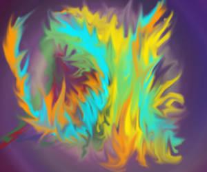 Fiery swirl by SOLI-Starrunner