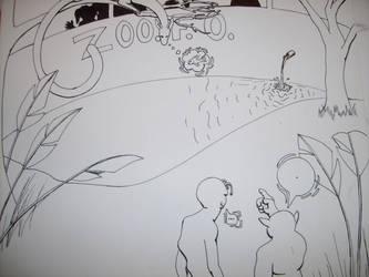 Alien comic panel 9 by SOLI-Starrunner