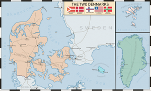 The Two Denmarks - Taiwan-like by Dom-Bul
