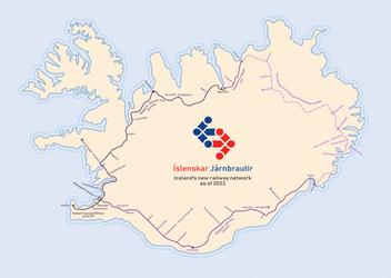 A Railway for Iceland by Dom-Bul