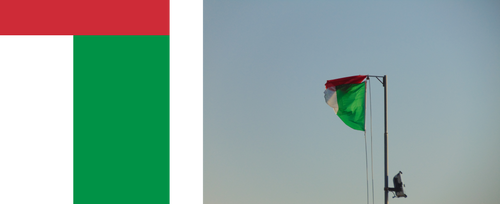 New flag of Italy by Dom-Bul