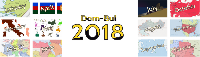 A sum-up of 2018 by Dom-Bul