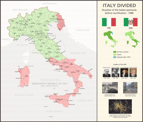 Italy Divided - scenario by LoreC10 by Dom-Bul