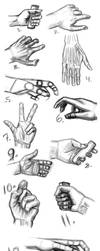 Wysp Hands by magicalflails