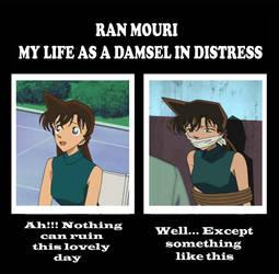 Ran Mouri My Life as a Damsel in Distress III by ArthurWolf