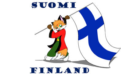 Fox of Finland by LordRedstar