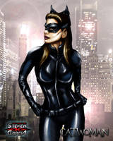 Catwoman by Steven-H-Garcia
