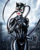 Catwoman:Batman Returns by Steven-H-Garcia