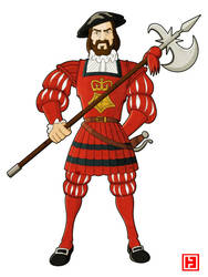 Yeoman of the Guard by hamahiru