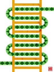 Snake and Ladder by hamahiru