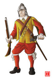 English Musketeer by hamahiru