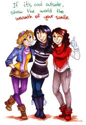 autumn girls by 9-rbk-9