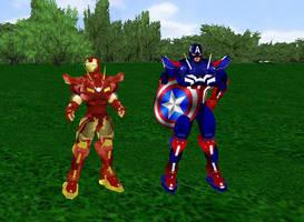 Marvel's Civil War by dragonzero1980