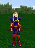 Super Girl Armor by dragonzero1980