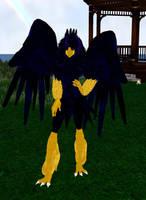 Blue Bird Girl by dragonzero1980