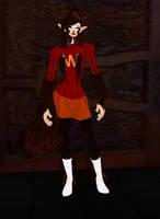 Pamela Wells Werewolf by dragonzero1980