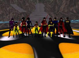 The Bat Team by dragonzero1980