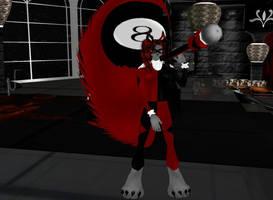 Harley Quinn Furry F by dragonzero1980