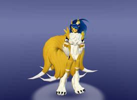 Kyuliciamon by dragonzero1980
